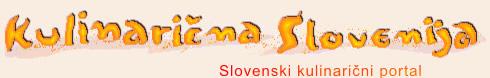 Kulinarična Slovenija recepti