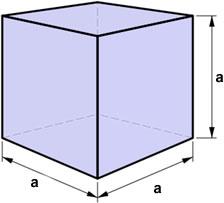 Volumen kocke