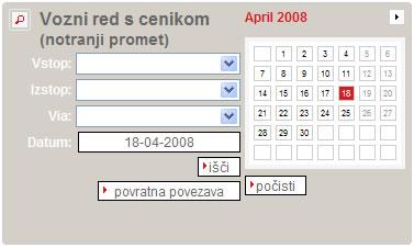 Slovenske železnice vozni red